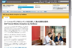 SAP Social Media Analytics by NetBase