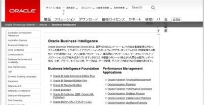 Oracle Business Intelligence