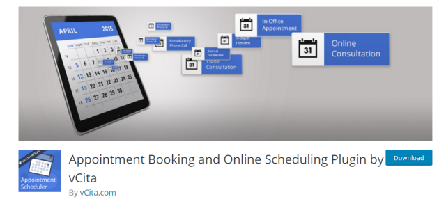 「Appointment Booking」のサイト