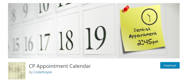 「CP Appointment Calendar」のサイト